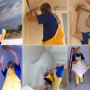 Видео монтажа натяжных потолков