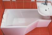 Размеры и формы акриловых ванн