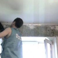 натяжные потолки своими руками видео
