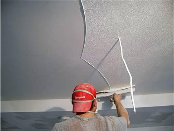 Выравнивание потолка из гипсокартона своими руками