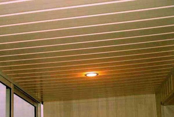 пластиковый подвесной потолок своими руками