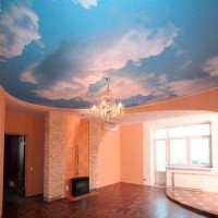 сколько стоит сделать натяжной потолок