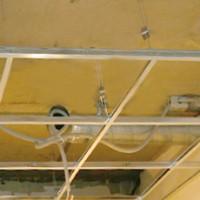сделать подвесной потолок своими руками