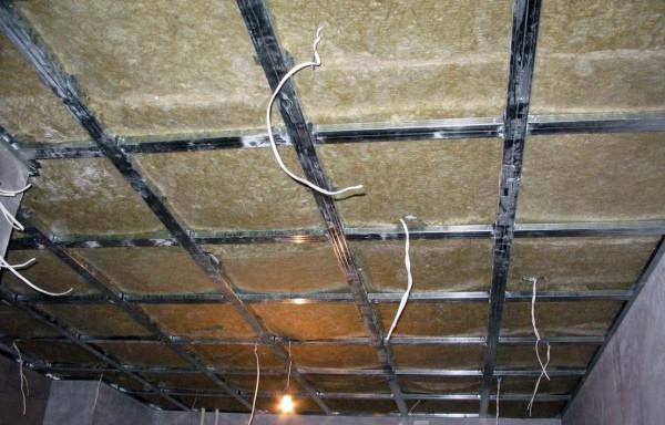 Реечный подвесной потолок своими руками