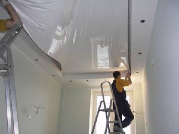 Монтаж натяжного потолка своими силами