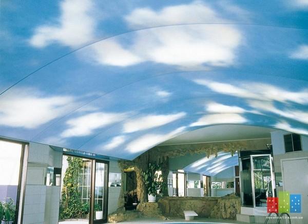 фото натяжные потолки