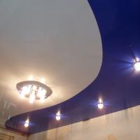 цвет натяжной потолок